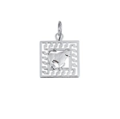 Подвеска знак зодиака «Телец»