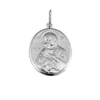 Нательная икона «Божья Матерь Владимирская»