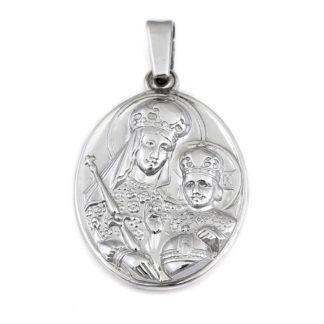 Нательная икона «Божья Матерь Всецарица»
