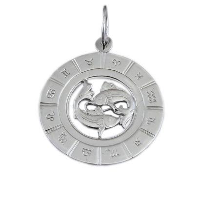 Подвеска знак зодиака «Рыбы»