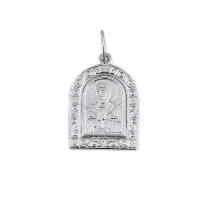 Нательная икона «Божья Матерь Семистрельная»